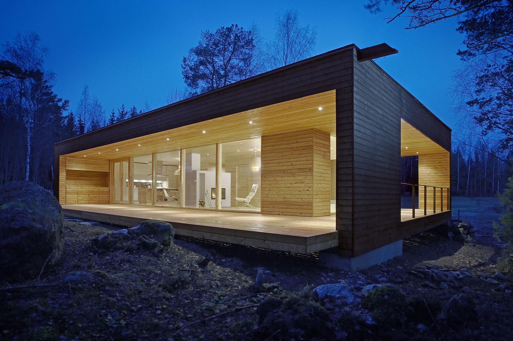 Проекты каркасных домов современного дизайна