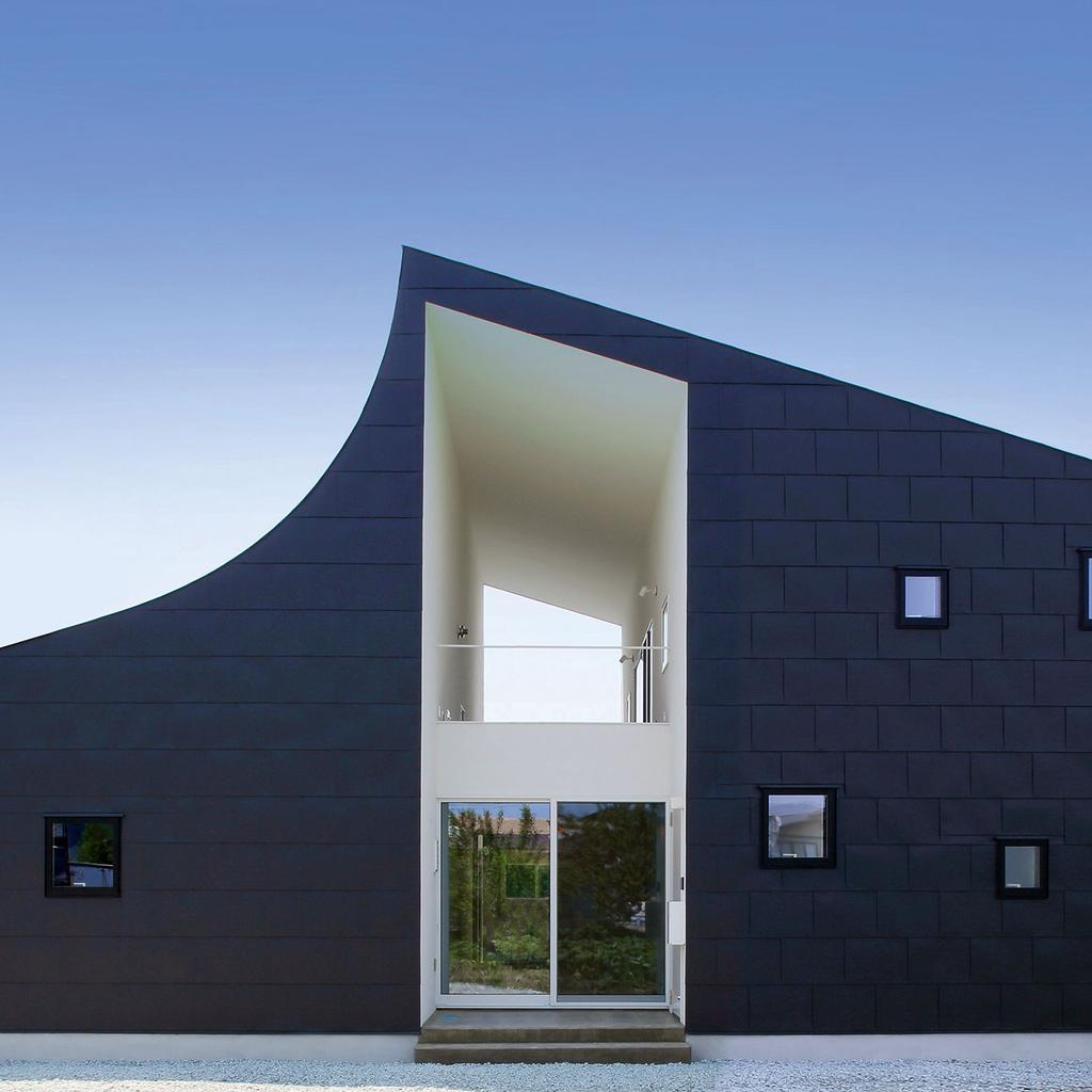 10 faszinierende japanische h user amuse. Black Bedroom Furniture Sets. Home Design Ideas