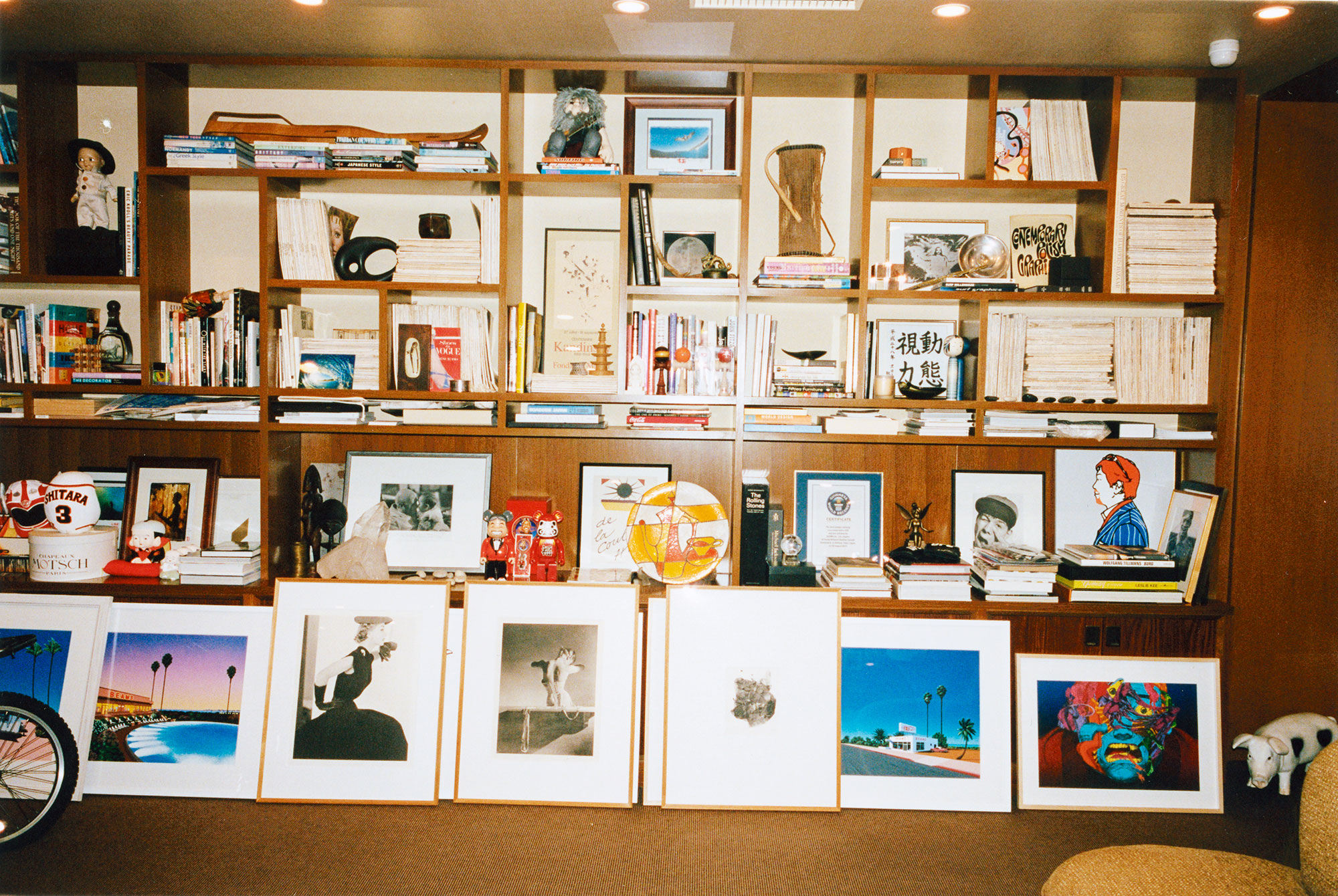 Influential japanese lifestyle and apparel brand beams has - His Office Space In Harajuku Including Horst P Horst Corset As Well