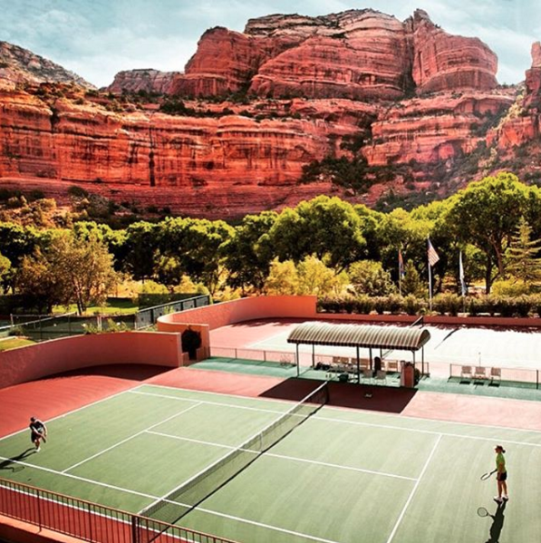 The World\'s Coolest Tennis Courts   Amuse