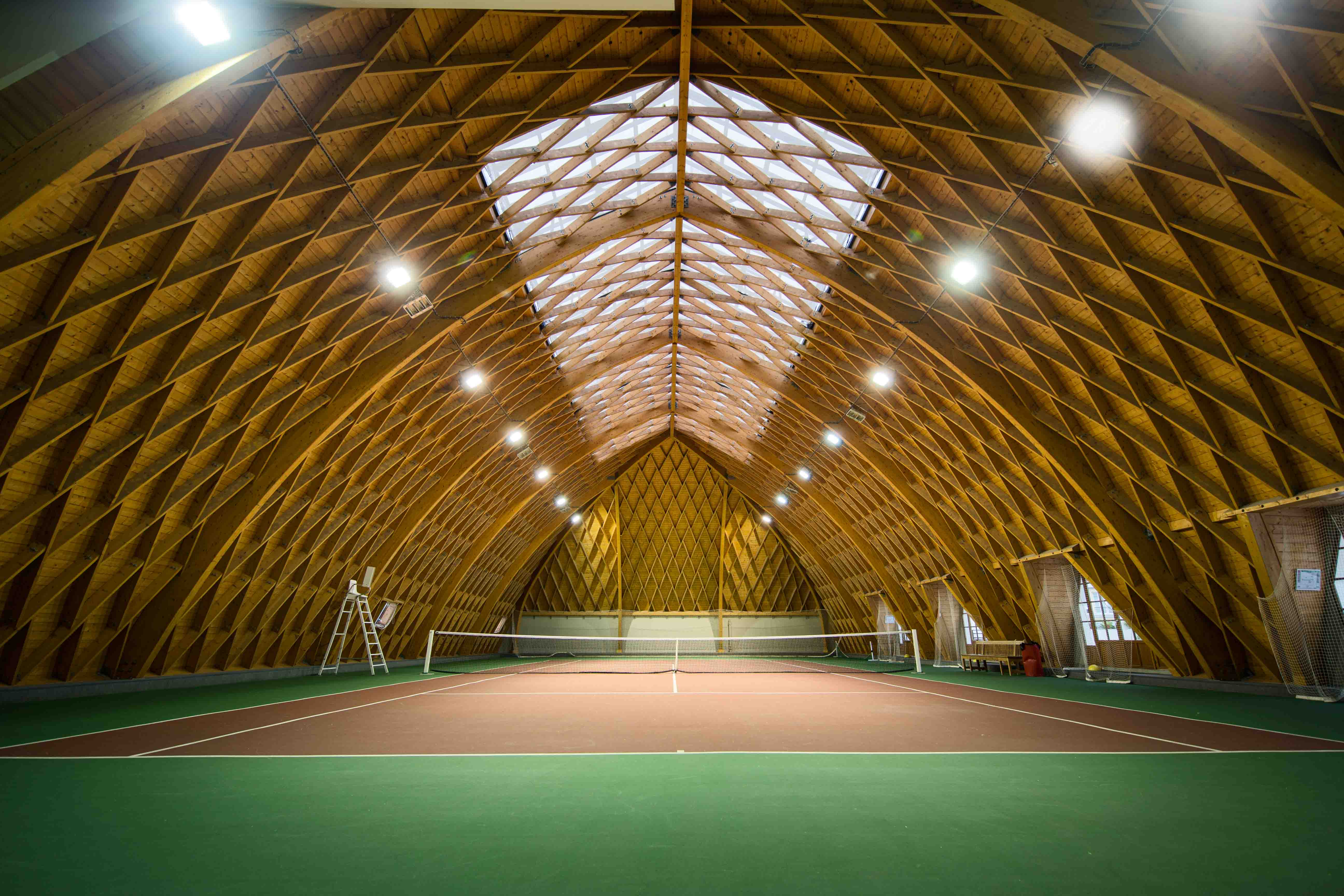 Playing Like A Pro The World S Coolest Tennis Courts Amuse