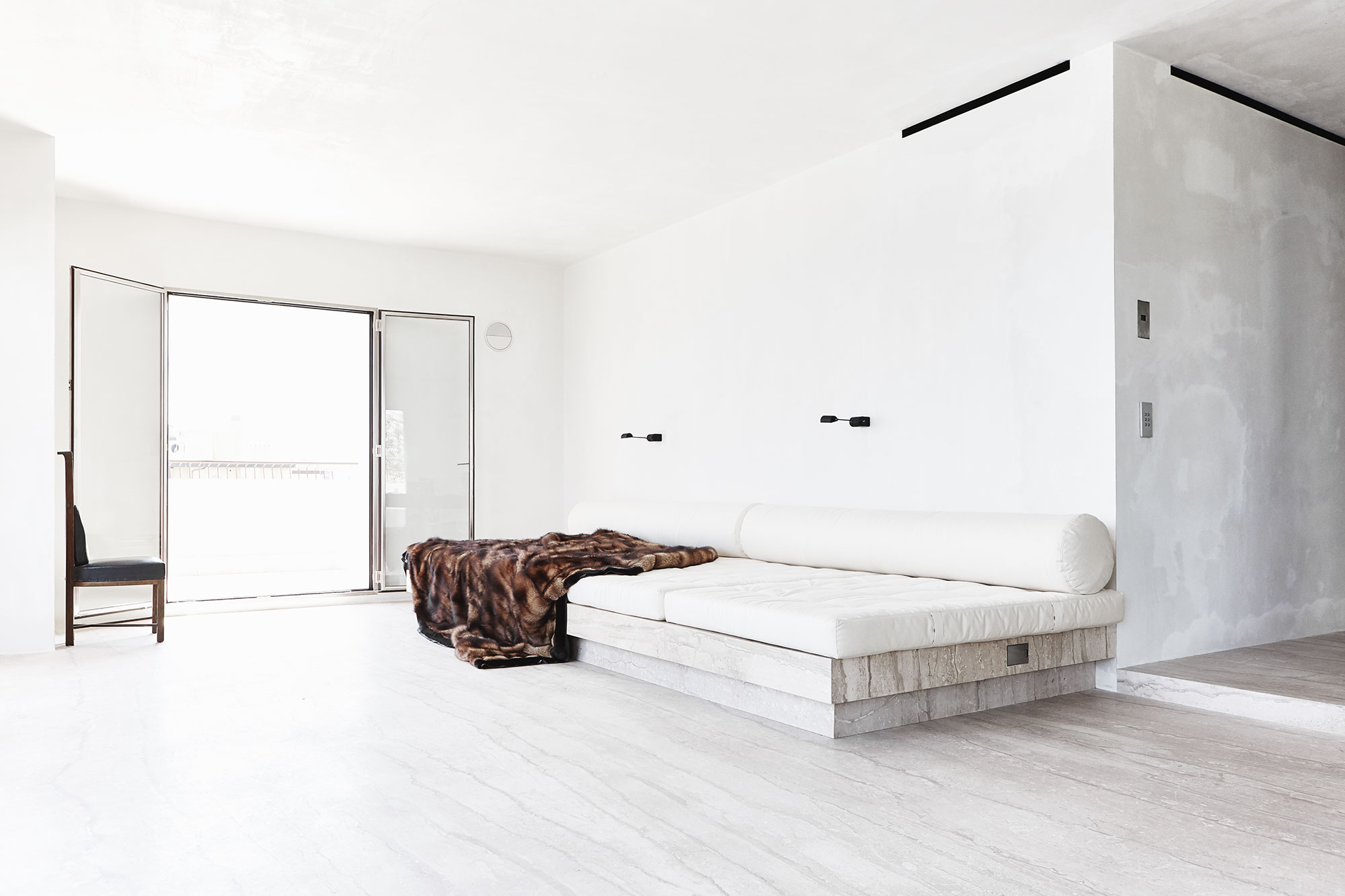 brutalism comfort and sleaze an interview with rick owens amuse. Black Bedroom Furniture Sets. Home Design Ideas
