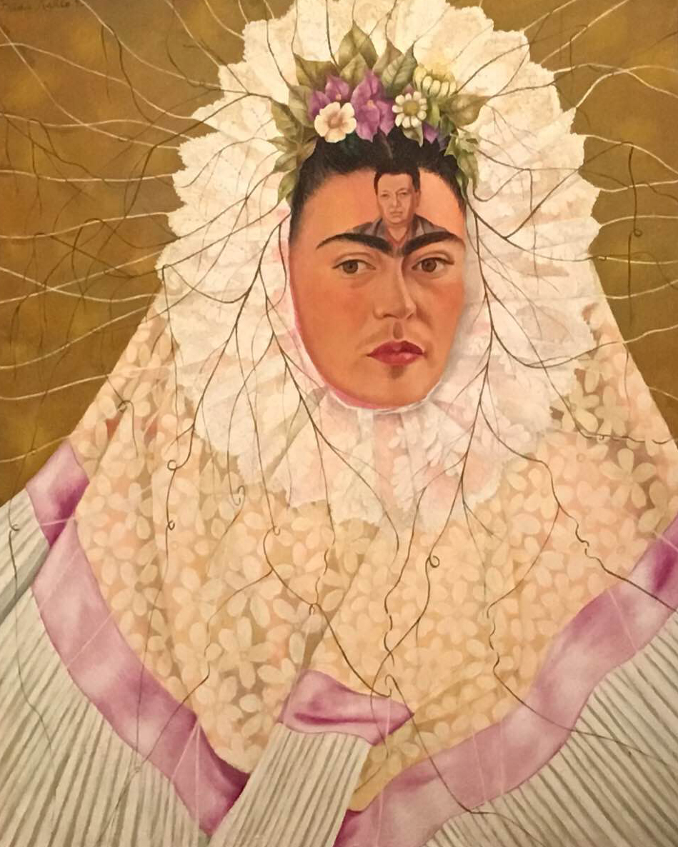 Frida Kahlo Self Portrait With Cropped Hair Essay