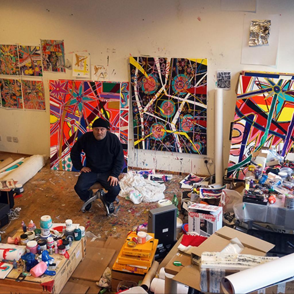 Why LA Influenced Nick Waplingtons New Artworks