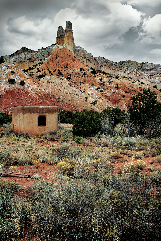 O'Keeffe's--backyard--at-Ghost-Ranch-©-Robyn-Lea