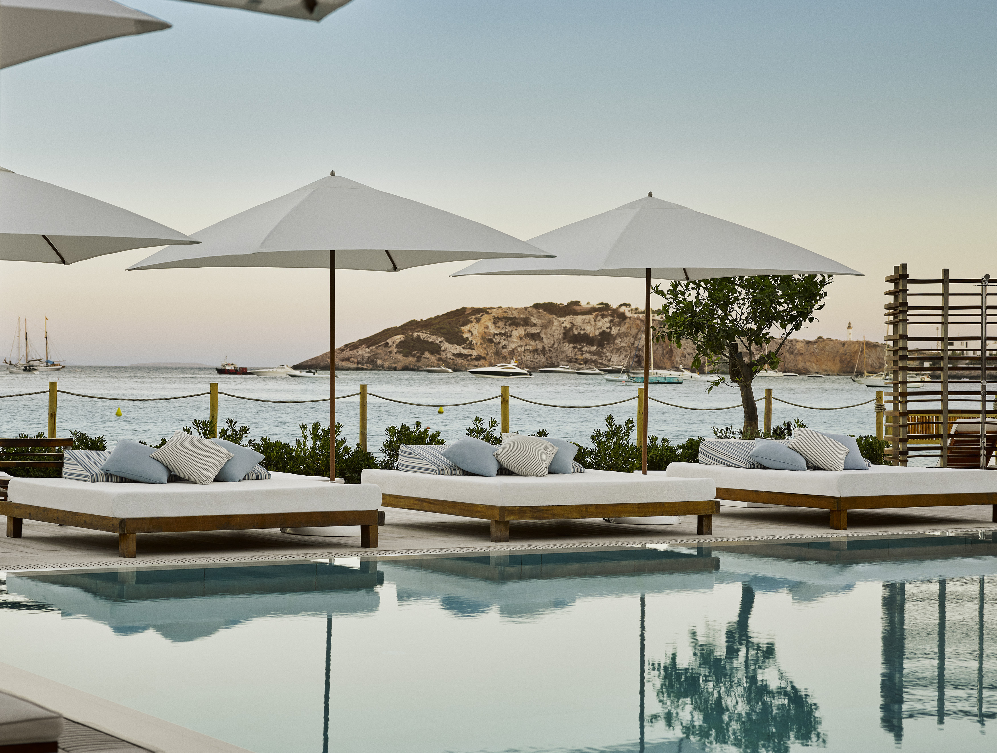 located on the white sandy beaches of talamanca bay nobu ibiza bay has been the most hotly anticipated hotel opening on the island for years
